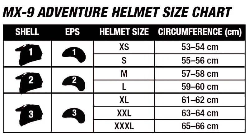 Bell Helmets Mx 9 Adventure Mips Nero