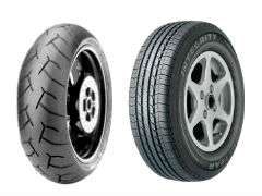 Motorcycle Tires, Car Tires