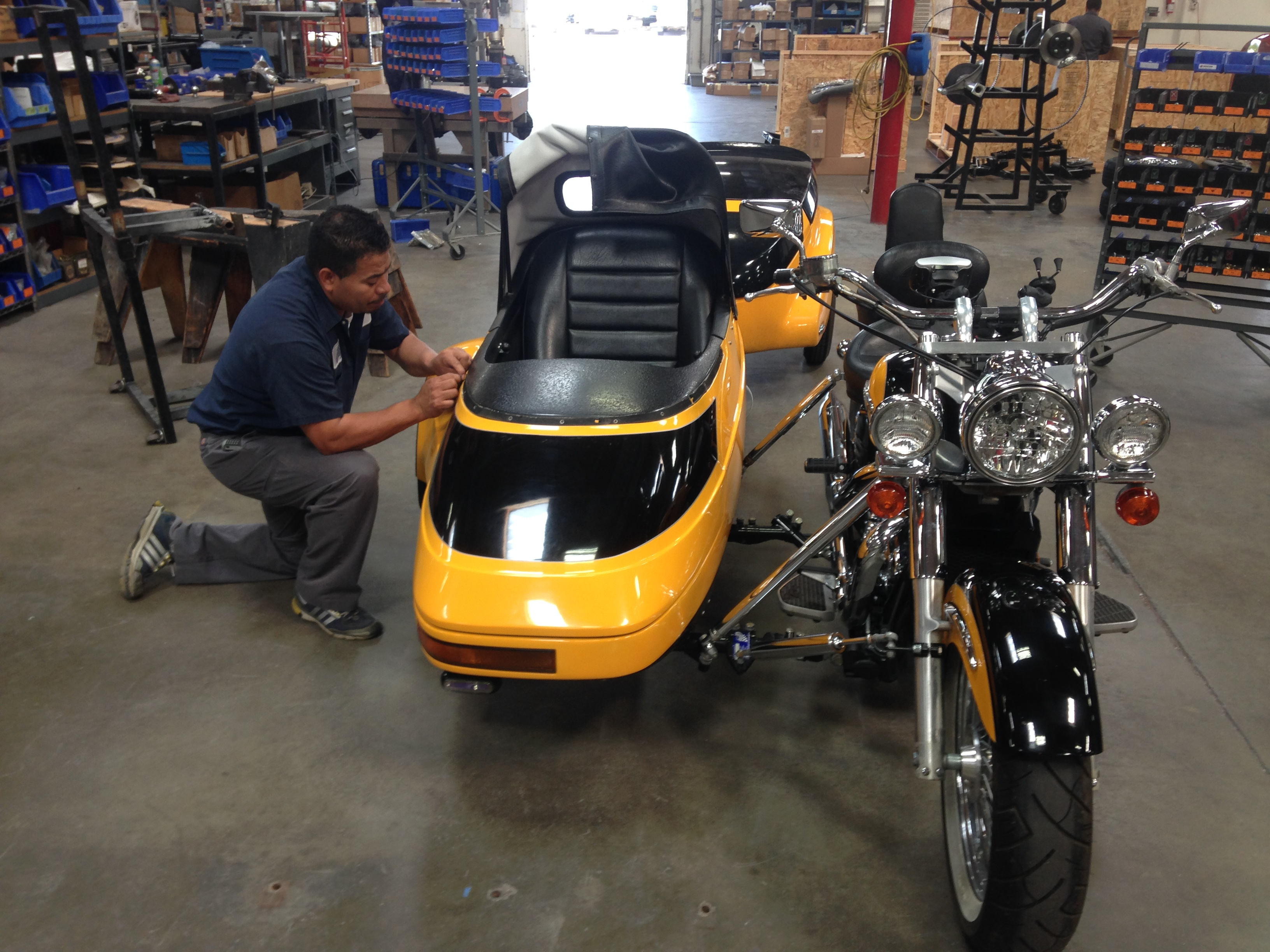 Field Trip to Champion Sidecar in Garden Grove | MotorcycleMama