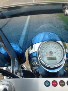 motorcycle instrument panel