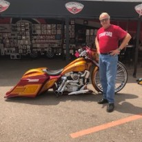 Motorcycle Mike in Sturgis 22