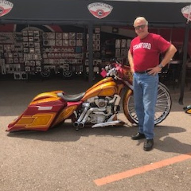 Motorcycle Mike in Sturgis 22