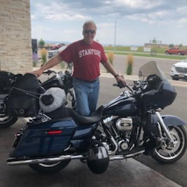 Motorcycle Mike in Sturgis 23