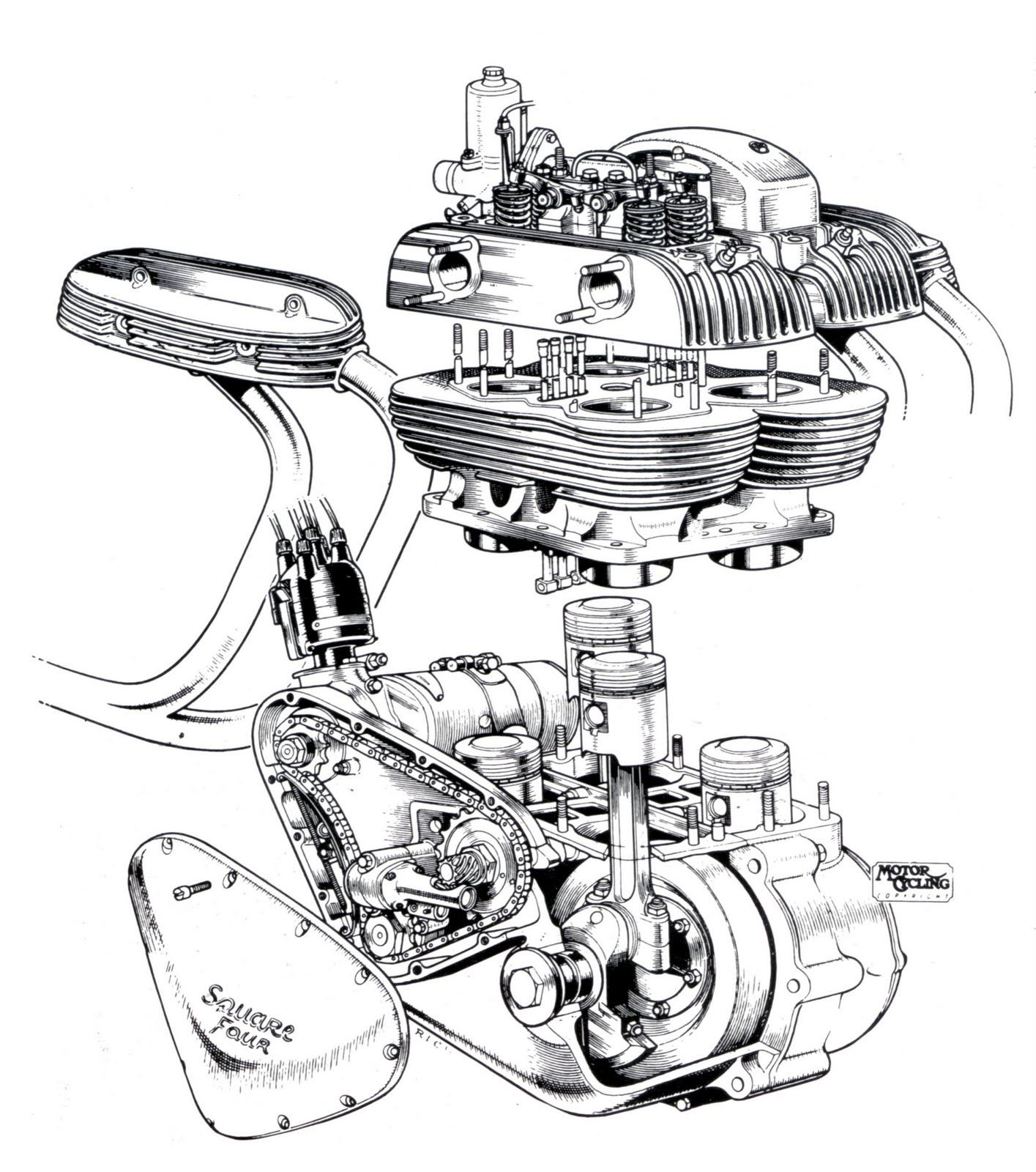 Rotary Race Engine