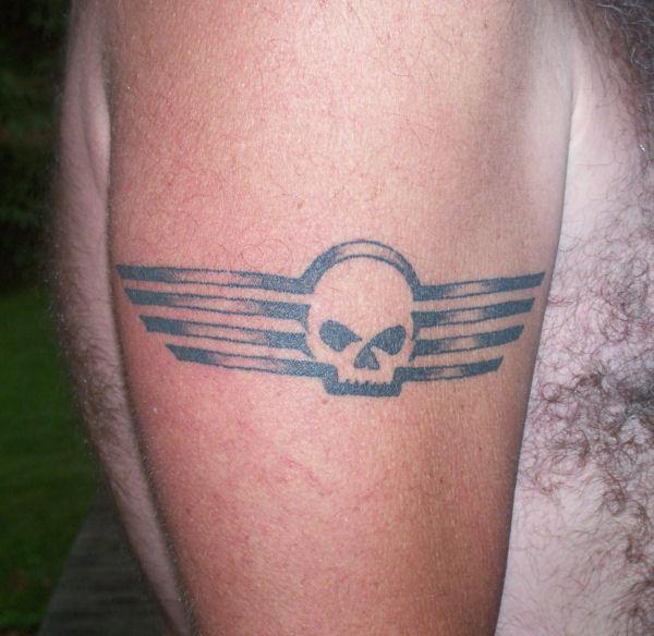 Wallpaper G Harley Skull Willie Davidson