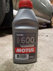 Always use a good quality brake fluid