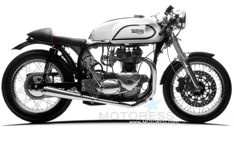 Café Racer Motorcycle on MOTORESS