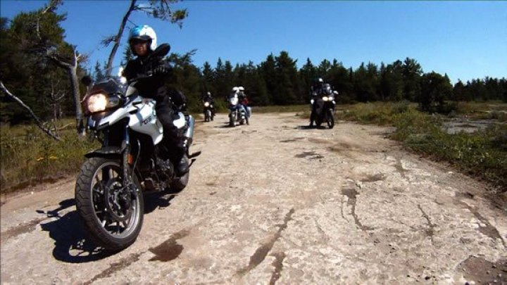 BMW F700GS Motorcycle on MOTORESS