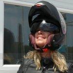Ahead with Schuberth C3 Pro Women's Helmet