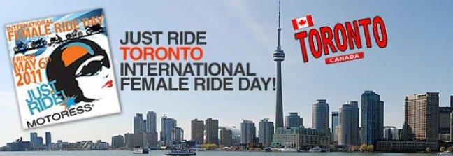 International Female Ride Day Toronto