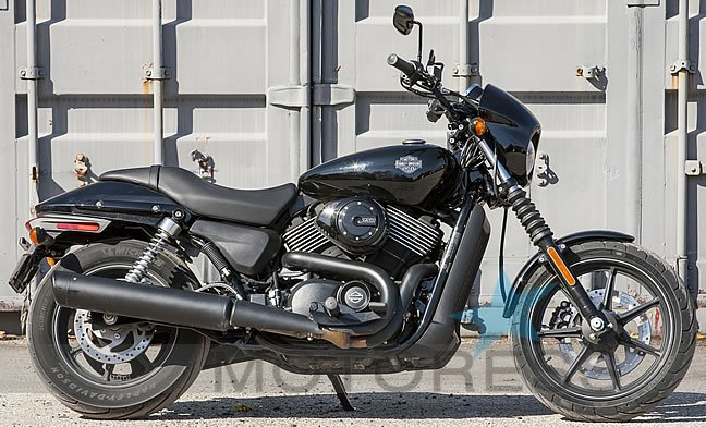 Harley Davidson Street 750 on Motoress