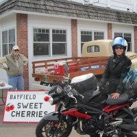 Ride Lake Superior Bayfield Vicki Gray