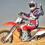 Iran's New Generation Woman Inspiring Through Motocross