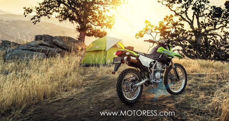 2018 Kawasaki KLX250S Dual Purpose Motorcycle -MOTORESS.COM