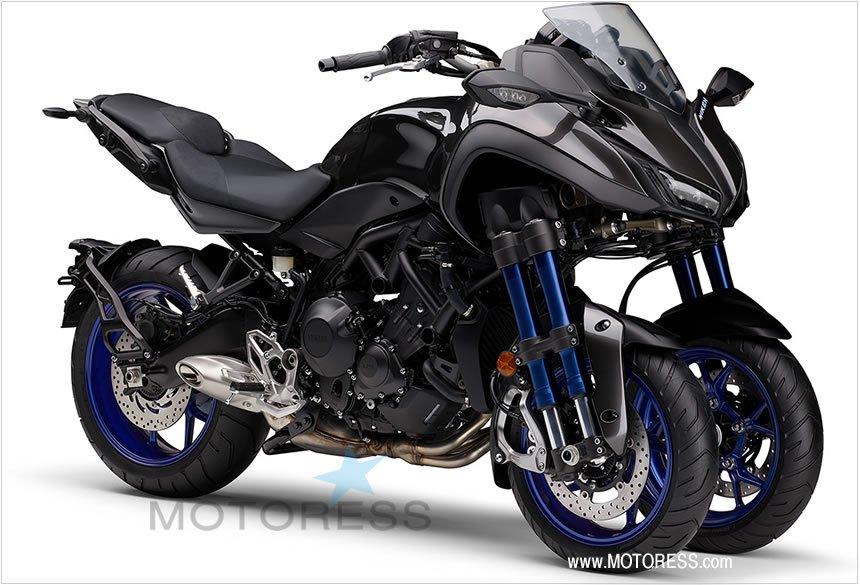 Yamaha NIKEN GT Multi-Wheel Technology - MOTORESS