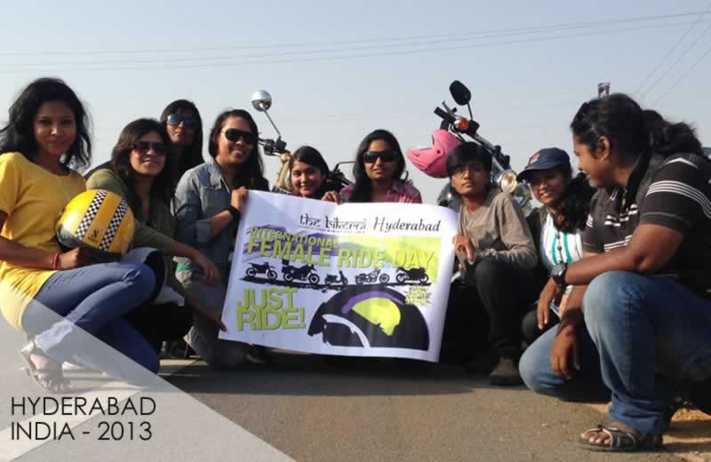 INDIA - International Female Ride Day Gallery on MOTORESS