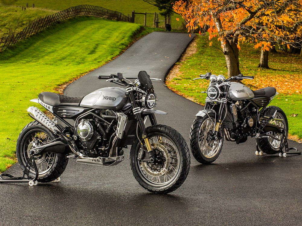 Norton Atlas, la nueva scrambler de Donnington Hall