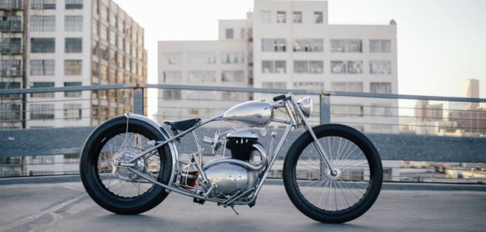 BSA A50 By Hazam Motorworks