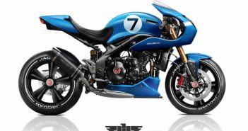 motorfiets door Jaguar
