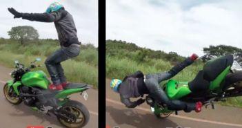 crash kawasaki z750