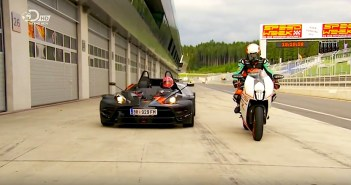 KTM RC8 R vs KTM crossbow RR