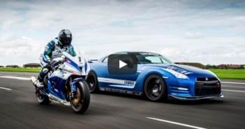 Nissan GT-R vs Kawasaki ZX-10R