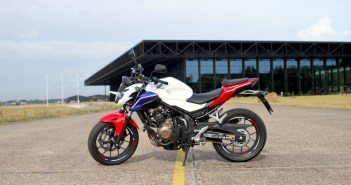 Honda CB500F test