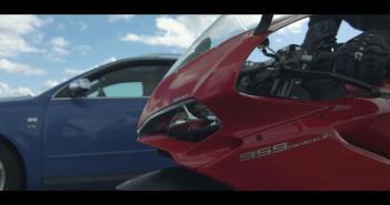 Ducati 959 Panigale vs Audi S4
