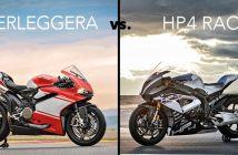 Ducati 1299 Superleggera vs BMW HP4 RACE