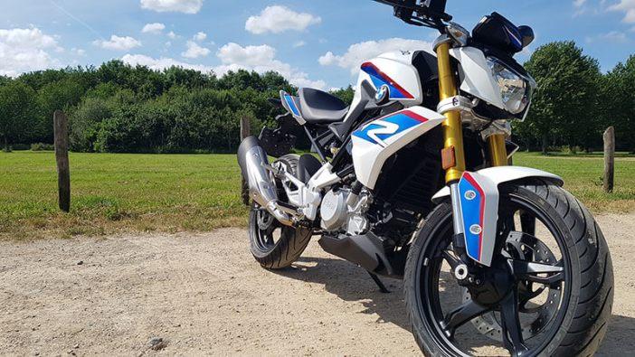 BMW G310R test