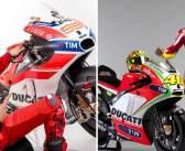 1e jaar Ducati: Rossi vs Lorenzo. Wie doet het beter?