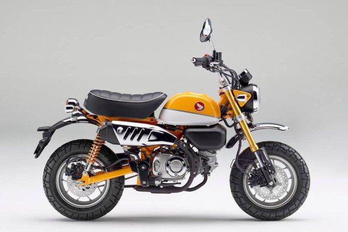Honda monkey 2018 geel