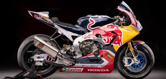 Honda CBR1000RR WSBK Hayden 2017