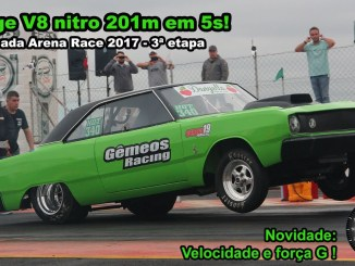 Dodge V8 nitro - 201m em 5s