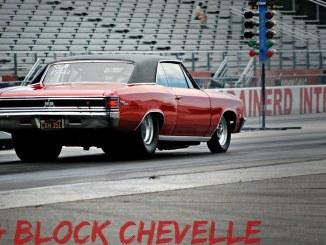 NASTY Big Block Chevelle burnouts & 1/4's