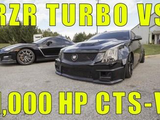 RZR TURBO VS 1,000HP CTS-V