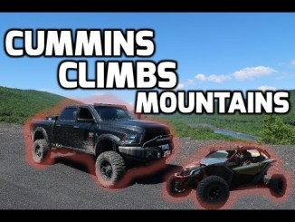 800+ HP Dodge CUMMINS  Goes ROCK Climbing!!!