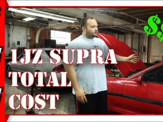 Cost To 1JZ Swap A Supra MKIII | How Much Does It Cost To Build A 1JZ Supra MK3