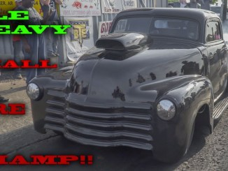 Memphis Street Outlaws Ole Heavy Crushes Small Tire Class!!! (6-17-17) (4k video)
