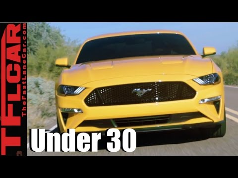 Top 9 Sporty New Cars Under $30K That Millennials Under 30-Years-Old  Want to Own