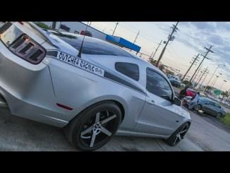East Side TV | Epic Ford Mustang Burnout | Second Line Sundays Burnout compilation