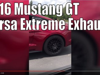 2016 Mustang GT with Corsa Extreme - Takeoff