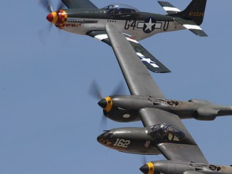 P-51 and P-38