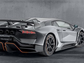 A second Mansory Cabrera shown