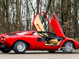 Customized Rod Stewart Countach SS restored to factory specs