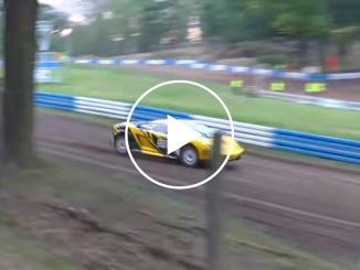 Lunatic Takes His Lamborghini Gallardo Rallycrossing