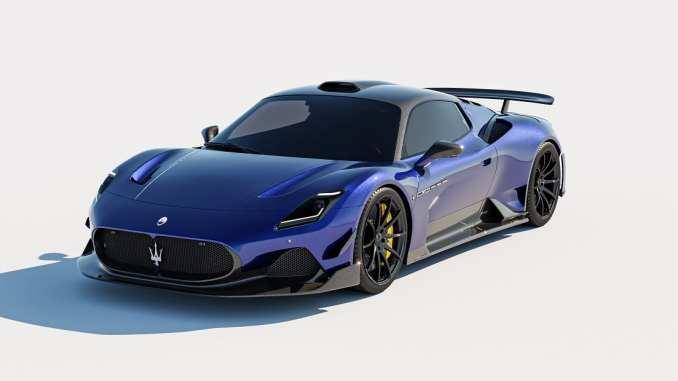 Maserati MC20 ARIA Unveiled by Seven Designs
