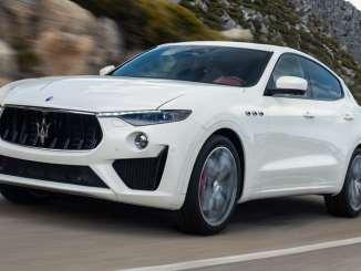 Maserati Unveils V8 Levante GTS at Goodwood