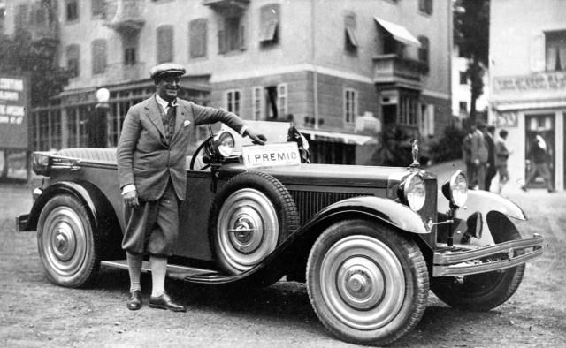 Ansaldo 6 BS carrozado por Bertone en 1928