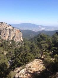 Time to descend, Sierra Espuña